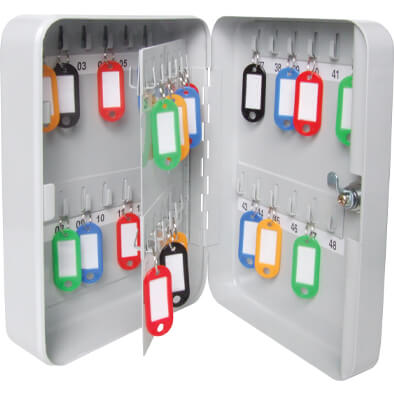 Key Cabinets And Key Boxes (up To 100 Hooks)